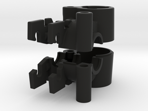 Nimble Housing for 3mm in Black Natural Versatile Plastic