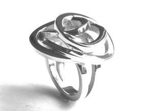 Mess Ring in Polished Silver: 7.25 / 54.625
