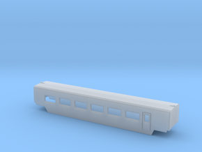 TGV wagenA002b in Smooth Fine Detail Plastic