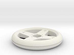 GRPFelge hinten 1:8 in White Natural Versatile Plastic