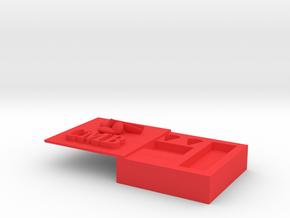音樂旅行包.stl in Red Processed Versatile Plastic