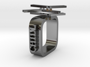 Beetle Bionic Ring - Ring in Polished Silver
