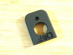 GBB Magazine Base Plate for G17, G18, G19 in Black Natural Versatile Plastic