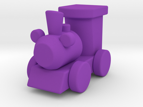Fantasy train blocks in Purple Processed Versatile Plastic
