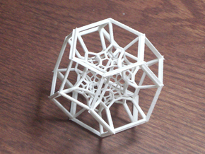 Inversion of 15 Truncated Octahedra in White Natural Versatile Plastic