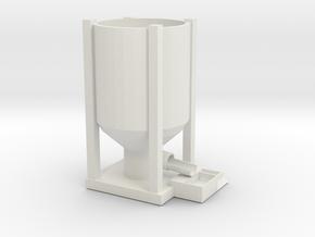smelter in White Natural Versatile Plastic