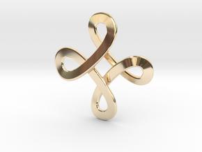 Loops Viking Pendant in 14K Yellow Gold