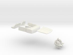 "1/87 RIVA ""Rivamare"" Luxury Yacht - PART 2 in White Natural Versatile Plastic"