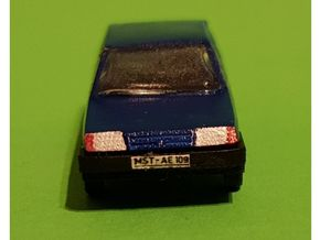 Lada Samara WAS2109 in Smooth Fine Detail Plastic