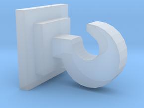 OO / HO Coupling Hook in Smooth Fine Detail Plastic