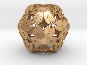 BETA: D20 Balanced - Cherry Blossom (Fancy Metals) in Natural Bronze