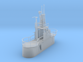 1/72 US Gato Conning Tower (Fairwater) in Smooth Fine Detail Plastic