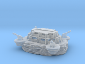 The SLINGSHOT military base! in Smooth Fine Detail Plastic