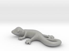 Cute Gecko Keychain in Aluminum