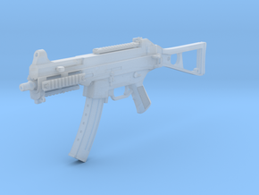 1/12th UMP9gun in Smooth Fine Detail Plastic