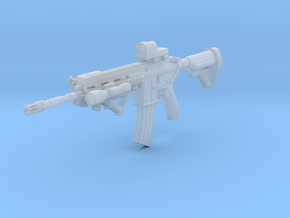 1/12th HK416Dtact3 in Smooth Fine Detail Plastic