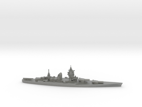 French Dunkerque-Class Battleship in Gray Professional Plastic
