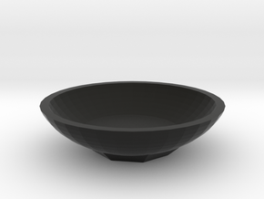 Star disk NO.1 in Black Natural Versatile Plastic