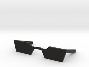 chopsticks rest in Black Premium Versatile Plastic