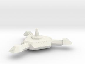 Omni Scale Kzinti Base Station SRZ in White Natural Versatile Plastic