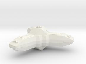 Omni Scale Lyran Base Station CVN in White Natural Versatile Plastic