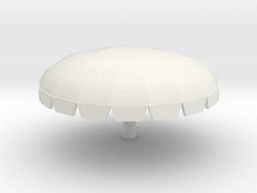 Waverunner Canopy in White Natural Versatile Plastic