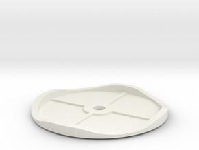 Hampton Waverunner Track in White Natural Versatile Plastic