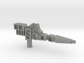 Carnivac's Anti-Thermal Cannon, 5mm in Gray Professional Plastic: Medium