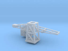 1/600th scale Harbour crane in Smooth Fine Detail Plastic