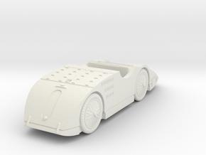 1/87 (HO) Bugatti Type 32 Tank in White Natural Versatile Plastic