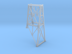 N Bitch Creek Trestle Slope Support H133/75 in Smooth Fine Detail Plastic