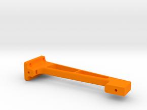 XL - Strebe Steuerung mitte in Orange Processed Versatile Plastic