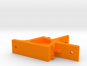 XL - Spulenhalter - unten in Orange Processed Versatile Plastic