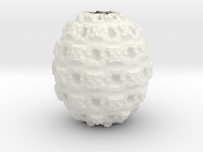 Vase 4516F in White Natural Versatile Plastic