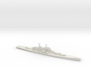 Moskva 1/1800 (Pr 66 Heavy Cruiser) in White Natural Versatile Plastic