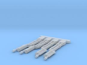 1/72 TIE Interceptor Wingtip Laser Cannons in Smooth Fine Detail Plastic