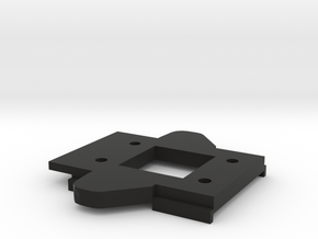 RCRP 001 Mugen MGT 7 Eco  Achsunterlage Vorne in Black Natural Versatile Plastic: 1:8
