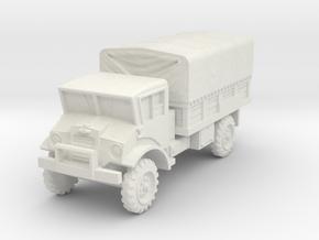 Chevrolet CMP 3t scale 1/87 in White Natural Versatile Plastic