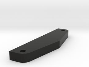 RCRP 003 Mugen MGT 7 Frontrammererhöhung in Black Natural Versatile Plastic: 1:8