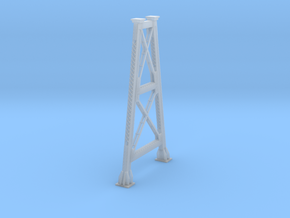 N Bitch Creek Trestle Support H75.6 in Smooth Fine Detail Plastic