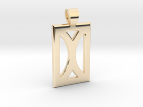 Your month [pendant] in 14K Yellow Gold