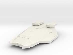 3788 Scale Zosman Light Cruiser (CL) MGL in White Natural Versatile Plastic