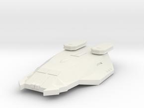 3788 Scale Zosman Light Cruiser (CL) MGL in White Natural Versatile Plastic