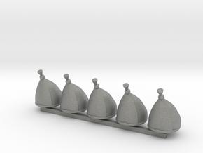 5 x Grenadier Hats in Gray PA12