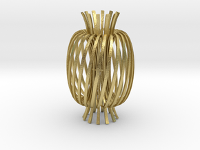 Energy fields -brass in Natural Brass