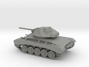 1/100 Scale M24 Chaffee Tank in Gray PA12
