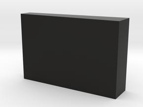 Lucky 13 Jr. - HDMI Cover in Black Natural Versatile Plastic