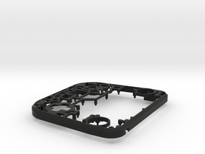 Lucky 13 Jr. - Front Frame in Black Natural Versatile Plastic
