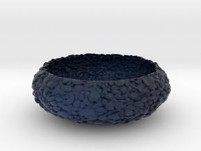 Pebbled Bowl in Matte Full Color Sandstone