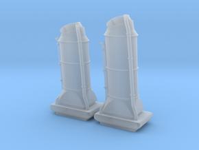 1/144 USN Chimney SET in Smooth Fine Detail Plastic